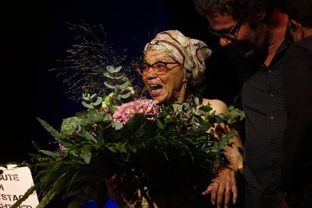 Die 94-Jährige feierte ihren Geburtstag.