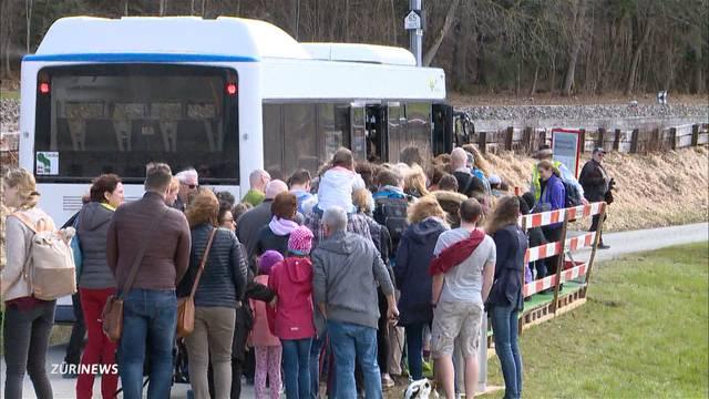 Statt der Bahn fährt jetzt ein Bus auf den Üetliberg