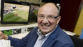 Auch am 65. Geburtstag fleissig: TV-Legende Beni Thurnheer (Archiv)