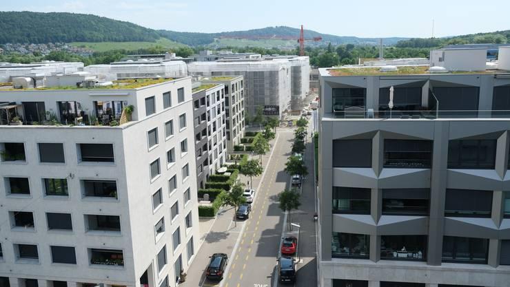 Stadtfeste sollen helfen, neu entstandene Quartiere wie das Dietiker Limmatfeld zu integrieren.