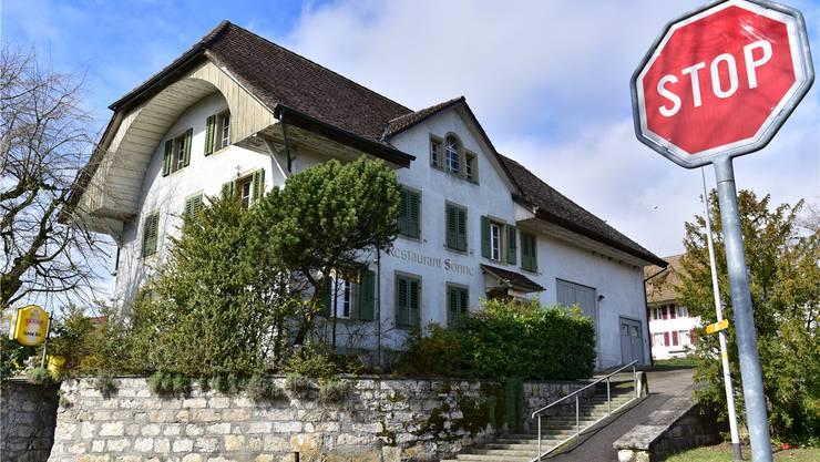 Im Restaurant Sonne in Walterswil wollte Zvonko Petrovic eine Bar eröffnen. Bruno Kissling