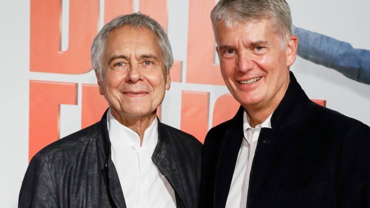 Sie sind seit 14 Jahren ein Paar und haben nun geheiratet: John Neumeier (links) und Hermann Reichenspurner. (Archivbild)