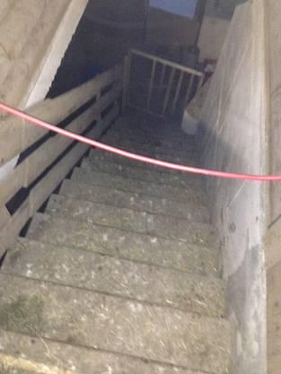 Die Treppe ins dunkle Verlies