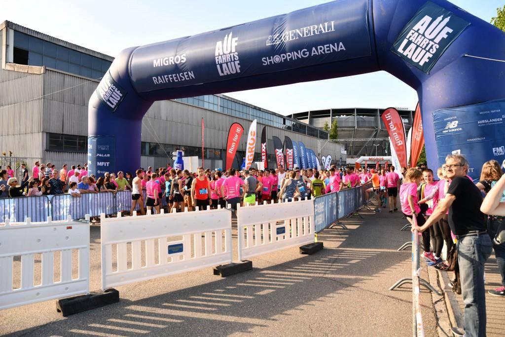 Alle Bilder des Halbmarathon (© FM1Today / Stefanie Rohner)