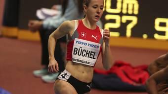 Selina Büchel konnte im Final über 800 m nicht in den Kampf um die Medaillen eingreifen und wurde Sechste