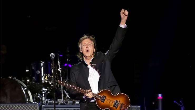 Paul McCartney ist zufrieden mit seinem Leben. Brent N. Clarke/KEYSTONE