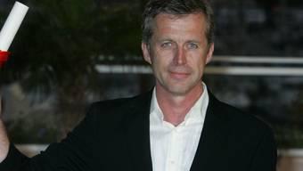 """Der französische Filmemacher Bruno Dumont - hier 2006 in Cannes mit dem Grand Prix für """"Flandres"""" - darf am 4. August auf der Piazza Grande in Locarno den Pardo d'onore entgegennehmen."""