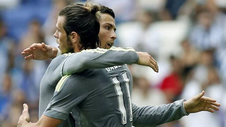 Die beiden teuersten Spieler der Königlichen Cristiano Ronaldo und Gareth Bale.