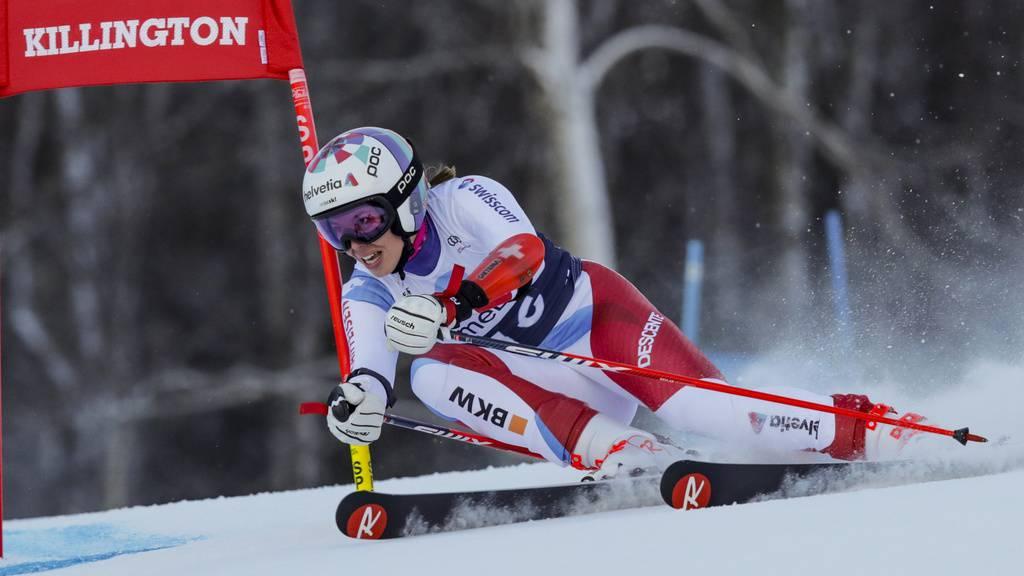 Michelle Gisin nach erstem Durchgang auf 3. Platz