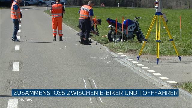 Motorradfahrer verunfallt in Wynigen