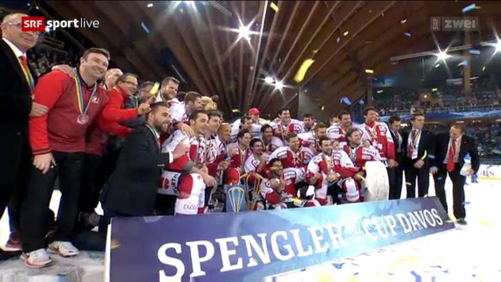 Das Team Canada gewinnt den Spengler Cup 2016