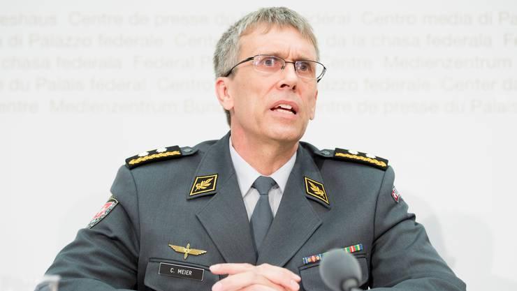 Divisionär Claude Meier