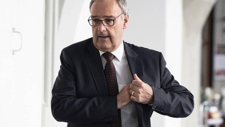 Weist die Kritik zurück: Bundesrat Guy Parmelin