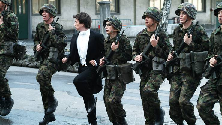 Szene aus dem Schweizer Film «Achtung, fertig, Charlie». Der Zahlungsrahmen des Bundesamts für Kultur für den Film beträgt 253,9 Millionen Franken,
