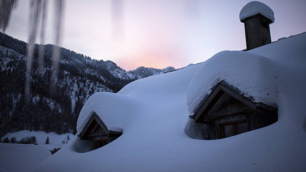Wieder Schneefälle angesagt – in den Voralpen bis zu 30 Zentimeter