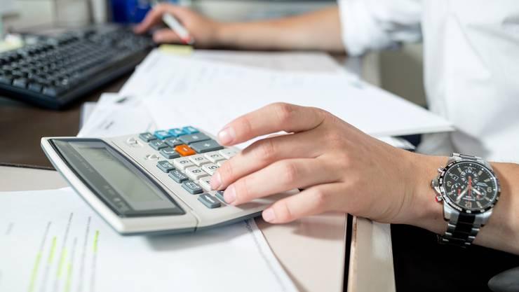 Die Wohler SVP spricht sich gegen einen Steuerfuss von 120 Prozent aus. (Symbolbild)