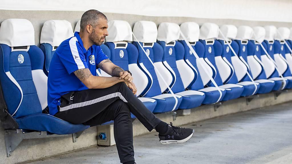 Luzerns Coach Fabio Celestini muss noch ein paar Tage auf Neuzuzug Samuel Alabi warten