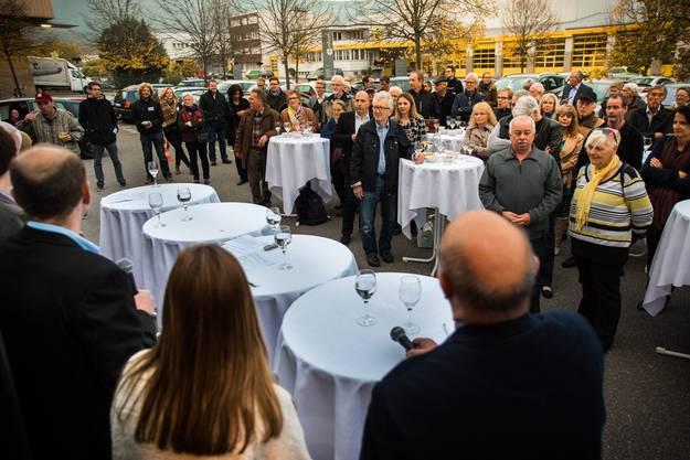 Nach Lenzburg ist Aarau das am Zweitbesten besuchte Podium.