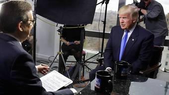 Donald Trump bevorzugte Fox News: Der US-Präsident gab dem konservativen TV-Sender gerne Interviews. (Archivbild)