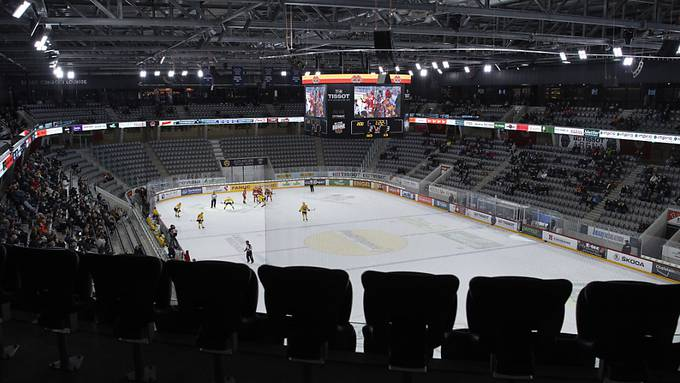 Das fast leere Stadion in Biel sorgte für die Diskussionen