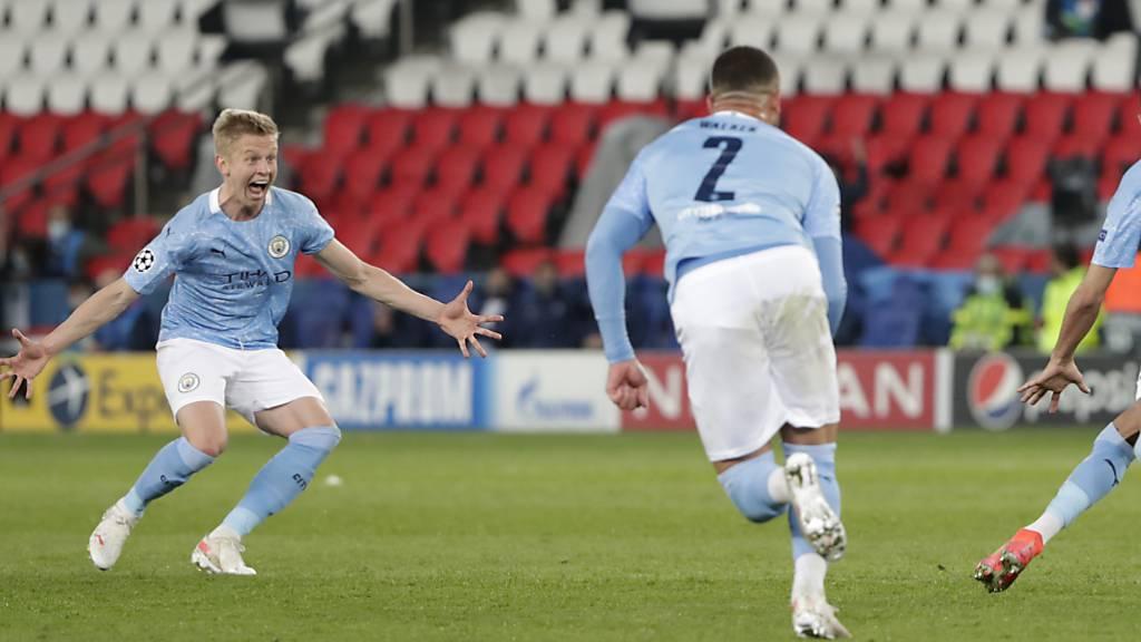 Manchester City entschlüsselt PSG nach der Pause