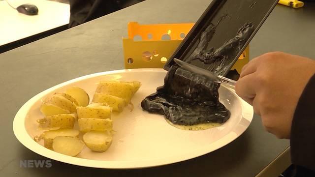Schwarzes Raclette