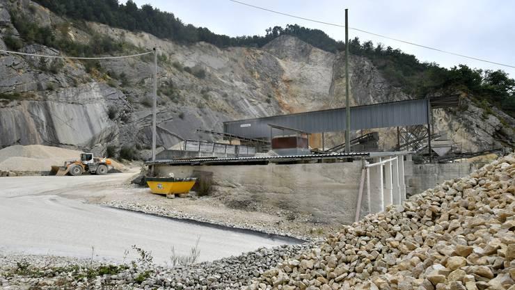 Der Steinbruch in Egerkingen soll eine neue Zufahrt bekommen.