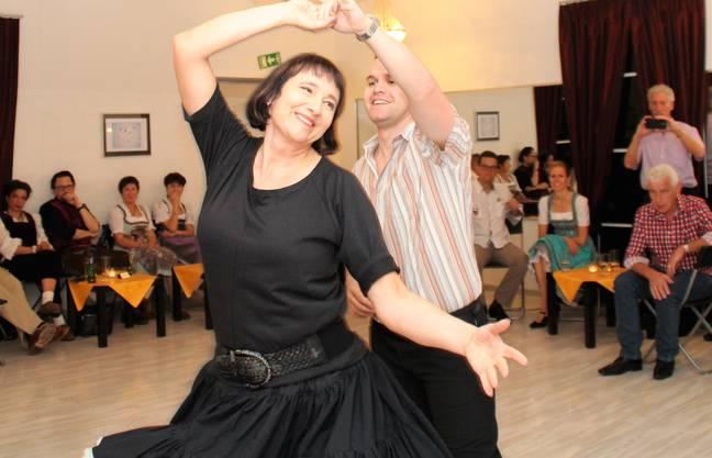 Patricia und Renato beim sanften Nightclub Two Step