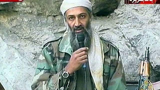 Videobild von Osama bin Laden aus dem Jahre 2001 (Archiv)
