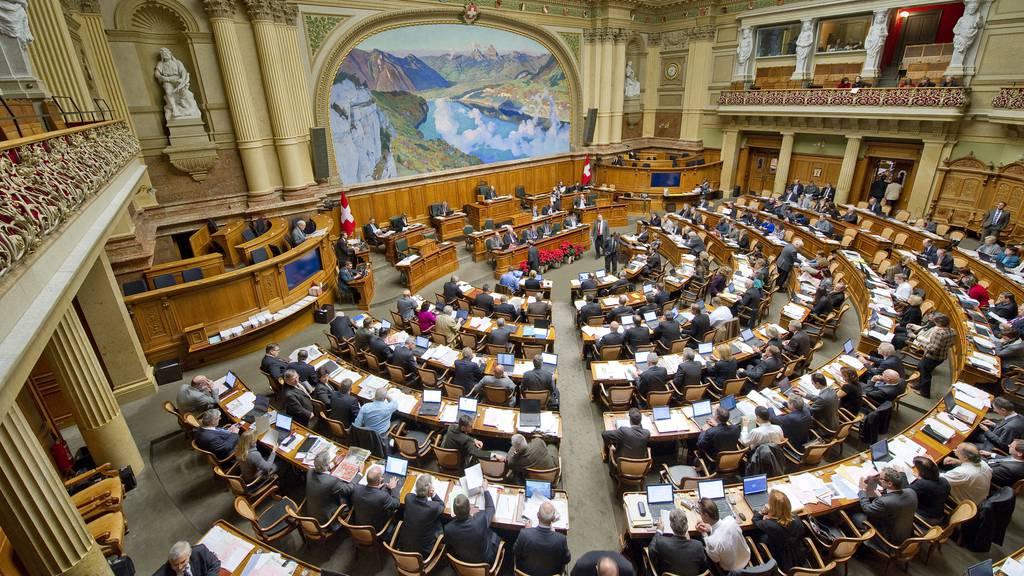 Abbruch der Frühlingsession im Bundeshaus
