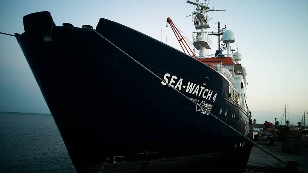Rettungsschiff «Sea-Watch 4» startet zum ersten Einsatz vor Libyen