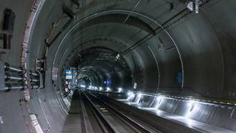 57 Kilometer lang ist der neue Gotthard-Basis-Tunnel.