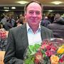 Neo-Nationalrat Alois Huber wurde an der Gemeindeversammlung vom Gemeinderat geehrt.