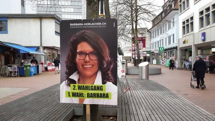 Barbara Horlacher konnte sich gegen Titus Meier (FDP) durchsetzen.