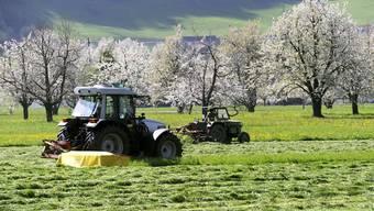 Die Bauernverband Aargau erwartet im Futterbau ein schlechtes Erntejahr