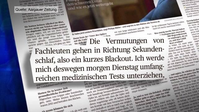 Philipp Müller: Null Erinnerung an den Unfall