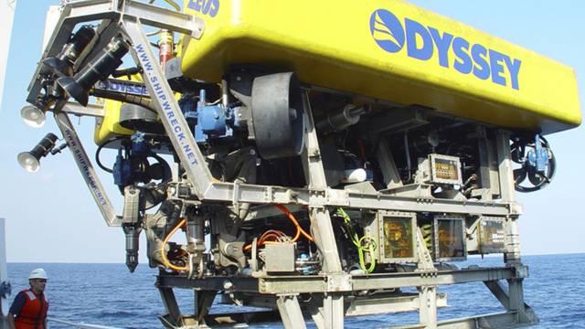 Das Unternehmen Odyssey Marine Exploration hat einen Goldschatz in 518 Metern Tiefe gefunden (Symbolbild)