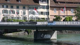 Der Vorfall ereignete sich im Bereich der Kreuzackerbrücke. (Archivbild)