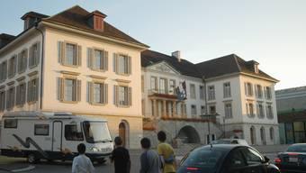 Regierungsratsgebäude in Aarau (Archivbild)