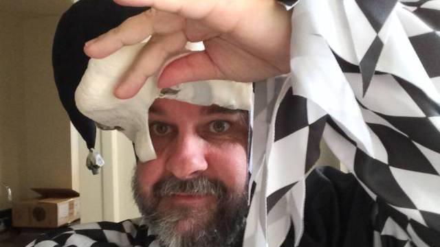 Hofnarr-Selfie von Peter Jackson (Bild Facebook)