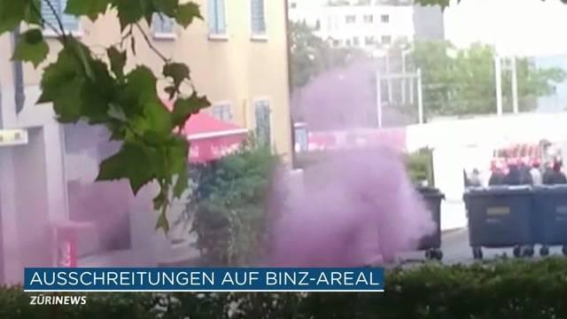 Binz-Areal wieder besetzt