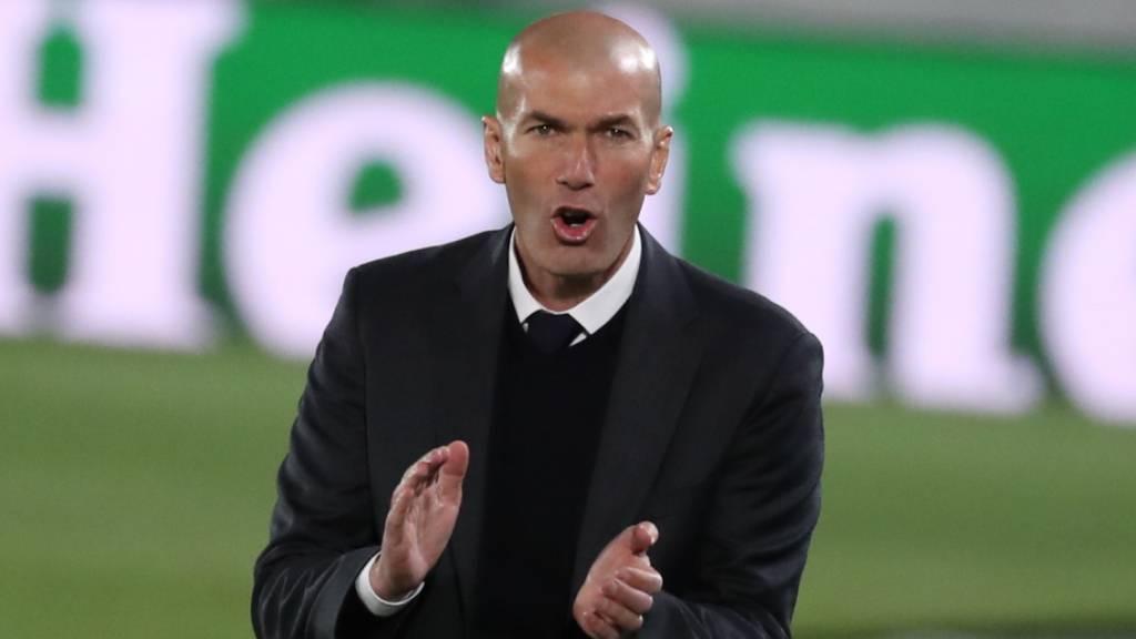 Zinédine Zidane orientiert sich an den Stärken des Gegners, wenn er seine Mannschaft einstellt