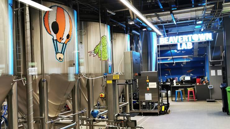 Das Tottenham Hotspur Stadium verfügt über eine eigene Brauerei.