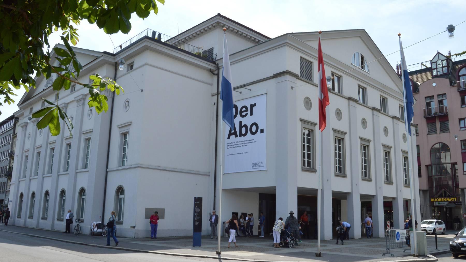 Luzern spielt seit 175 Jahren Theater