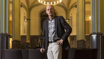 Nominiert für den Schweizer Buchpreis: Der Autor Vincenzo Todisco (54) im Zürcher Kulturhaus Helferei.