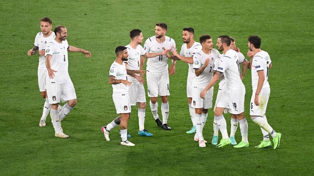 Souveräner Auftritt am EM-Auftaktspiel: Italiener gewinnen 3:0
