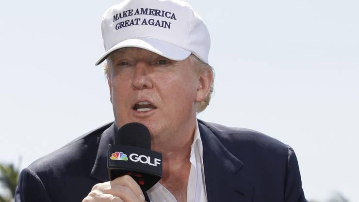 In Sachen Steuererklärung gibt sich Donald Trump bedeckt.
