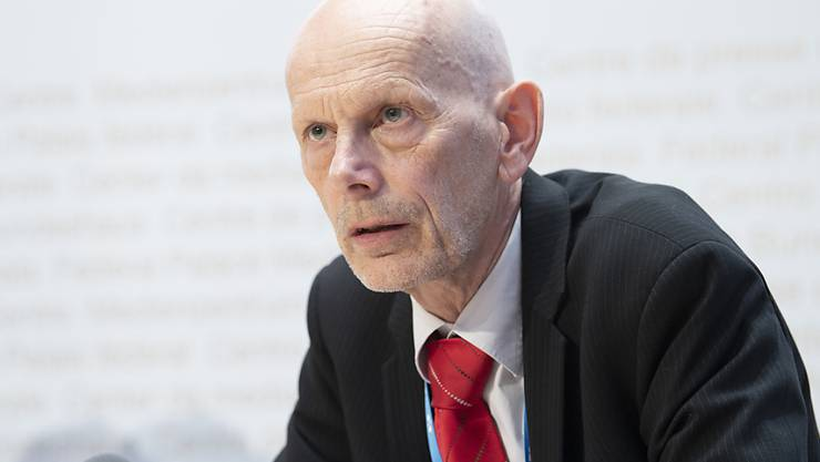 Die Zahl der neuen Coronavirus-Fälle steigt rapide an. Daniel Koch vom Bundesamt für Gesundheit informiert über die Entwicklung der Epidemie in der Schweiz. (Archivbild).