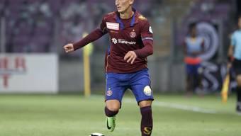 Der eingewechselte Steven Lang traf für Servette einmal mehr gegen seinen Ex-Klub Schaffhausen
