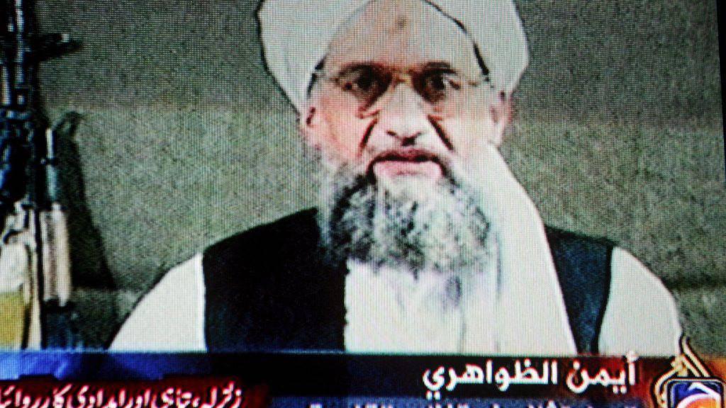 Videoaufnahme von Al-Sawahiri aus dem Jahr 2005: In einem neuen Video ruft er zu Anschlägen gegen die USA auf. (Archivbild)